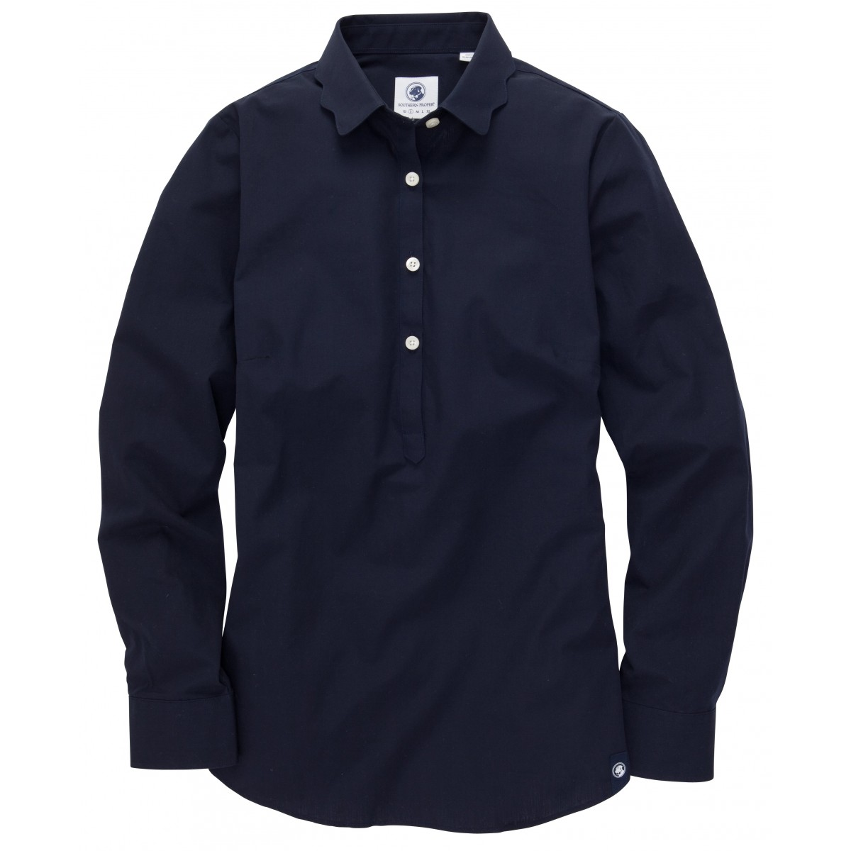 Brooks Popover - Navy